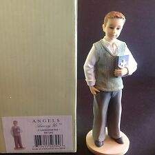 "Angels Among Us ""Communion Boy"" Betty Singer Figurine BS7262 NIB"