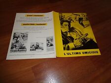 BROCHURE,196,Once a Thief,L'ultimo omicidio,ALAIN DELON,Ann-Margret,Nelson