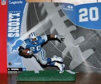 McFarlane NFL LEGENDS BARRY SANDRERS DETROIT LIONS BLUE JERSEY LOOSE Series 1