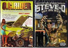 O.G. Rider - Lowrider Car Shows & SS & Steve-O Out On Bail; 2 Brand New DVDs