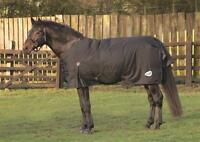 Masta Zing 300g heavyweight winter horse turnout rug blanket black 600 denier