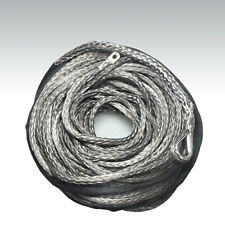 10mm x 40m Grey DYNEEMA SK-75Synthetic Winch Rope 4x4 Camping 4WD Recovery warn