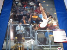 OLGA KORBUT OLYMPIC GYMNAST HAND SIGNED COLOR 11X14 WITH PSA/DNA ITP COA 4A81315