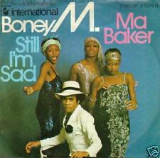 JUKEBOX SINGLE 45 BONEY M   MA BAKER        DISC-COUNT2