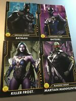 Injustice Cards Arcade Game Rare Mystery Characters Dave & Busters Series 2