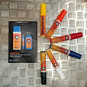 Molotow One4All 627 HS Acrylic Markers - Basic Set 1 - 6 Markers