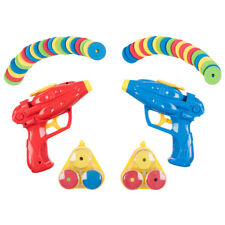 Twin Pack Disc Shooter With 48 Soft Foam Discs Fun Gift for Children & Adults