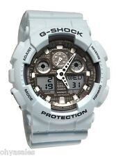Casio G-Shock Ice Gray Classic Series Men's Stylish Wrist Watch GA100LG-8ACR