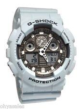 Casio G-Shock Ice Gray Classic Series Men's Stylish Wrist Watch GA100LG-8ACR