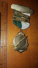 1960 BLACKINGTON MEDAL PIN RIBBON 50 YARDS REST MUSKET MEDAL RIFLE TEAM?