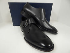 cf2a3119730 Cole Haan Mens Williams Monk Strap II Black Leather 8.5 D M