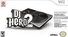 Wii DJ Hero 2 Turntable Bundle