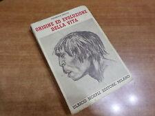 Federico Sacco ORIGINE ED EVOLUZIONE DELLA VITA Edizione Hoepli 1937