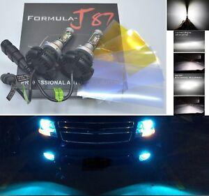 LED Kit X3 50W 9006 HB4 8000K Icy Blue Two Bulbs Head Light Low Beam Plug Play