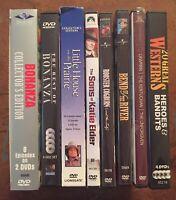 Lot Of Western TV Series & Movies Bonanza John Wayne Jimmy Stewart DVD
