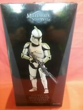 Sideshow Star Wars Clone Sergeant Phase 1 Armor Sixth Figure 1:6 scale in box