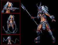 NECA Ultimate Deluxe Clan Leader Predator 18cm Action Figurine Modèle Cadeau