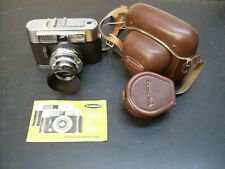 Voightlander Vito CL w/Color Skopar 50mm f2.8 lens, B&W filter, lens hood,cases