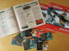 2021 Airfix Blood Red Skies Foreign Game Instruction Booklets & Cards