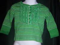 NEW Infant Toddler Baby Girl OLD NAVY Shirt 6 / 12 M