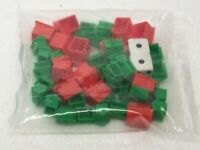NEW SEALED Monopoly Replacement Hotels Houses & Dice FREE SHIPPING