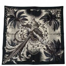 Hermes Mythiques Phoenix Silk Scarf Vert Anthracite Vanille Auberg Holy Grail