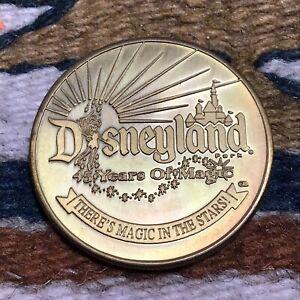 "Disneyland 45 Years of Magic Collectors' Coin 2000 ""Disney Travel Co."""