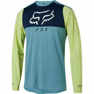 Fox Racing Flexair Delta Long Sleeve L/S Jersey Light Blue