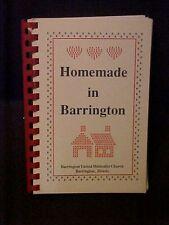 Homemade in Barrington, United Methodist Church Barrington IL Cookbook