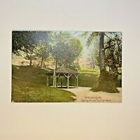 Chancellorsville House FREDERICKSBURG Virginia~Hand Colored Postcard Unposted