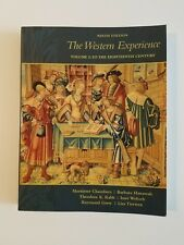 The Western Experience, Volume 1, by Mortimer Chambers 9th Edition