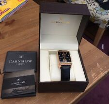 Earnshaw Mens Automatic Watch 23 Jewels Boxed