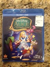 Alice in Wonderland (Blu-ray/DVD, 2011, 2-Disc Set, 60th Anniversary Edition)NEW