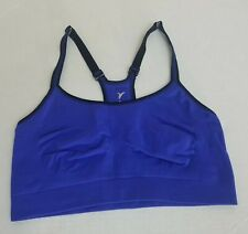 Active By Old Navy Women Blue Solid Wire Free Sport Bra Size M