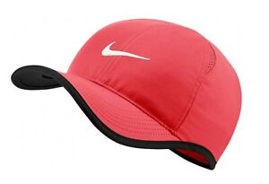 Nike AeroBill Featherlight Dri FIT Adjustable Running Tennis Hat 679421 644