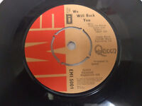 "Queen ‎– Crazy Little Thing Called Love, We Will Rock You (EMI 5001) 7"" Single"