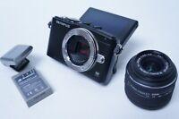 Olympus Pen Lite E-PL5 16.1 MP Mirrorless Camera w/ 14-42mm Lens & Flash - Black