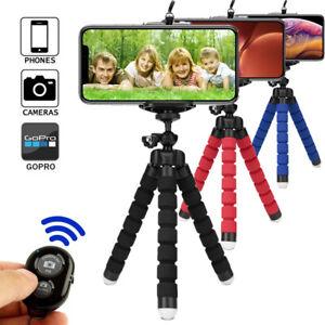 Tripod for phone monopod selfie remote stick for smartphone bluetooth tripods