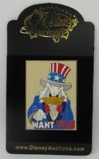 Disney Auctions Donald Duck as Uncle Sam MOC LE 500 2004 I Want You