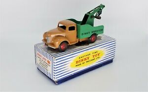 DINKY 25X COMMER BREAKDOWN LORRY - EXCELLENT IN BOX - WORLDWIDE SHIPPING