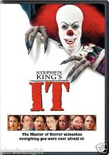 STEPHEN KING'S IT DVD - TIM CURRY - JOHN RITTER - ANNETTE O'TOOLE - HORROR