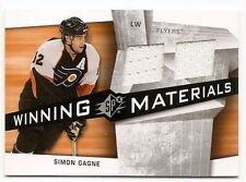 08/09 SPx WINNING MATERIALS JERSEY Simon Gagne #WMSG