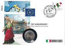 Gelegenheitsausgabe Euro Gedenkmünzen aus Italien