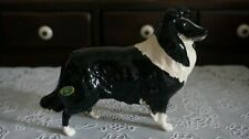 Vintage Beswick Dog Figurine Large Border Collie English Sheep Dog, England