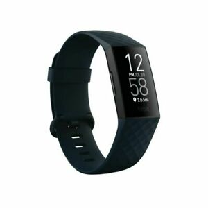 iFitbit Charge 4 Fitness Tracker - Storm Blue