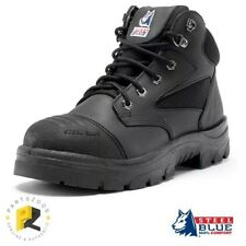 Steel Blue Parkes Zip Work Boots Safety Toe Scuff Cap 312658