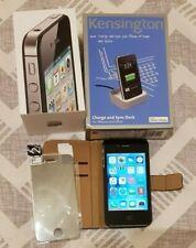 Apple iPhone 4s 16GB Smartphone - Black (Unlocked) + Accessories