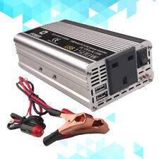 Car USB adapter 1500w power inverter 12v DC to 230V 240V AC converter travel
