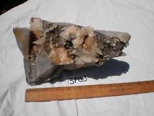Calcite Dog Tooth Shape Crystals Multi Color Matrix 11+# SP03 Coalmine Specimen