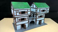 Mage quarters scenery terrain warhammer AOS 28mm wargame wargaming building